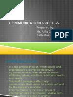 Communication Process Ballesteros