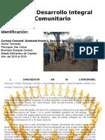 Plan de Desarrollo Integral Comunitario El Gas