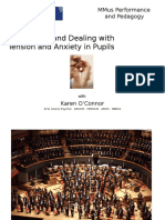 Dealing With Tension and Anxiety in Pupils-music pedagogy
