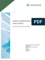 Digital Marketing Swot Analysis