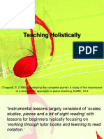 Teaching Holistically