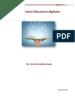 Avaldivia Texto Modificable Materiales Digitales