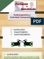 Estereoquimica y Actividad Farmacologica