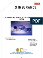 Micro Insurance in India