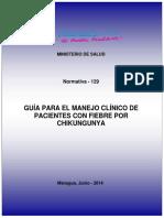 Guía para el manejo clínico de pacientes con fiebre por chikingunya - Nicaragua.pdf