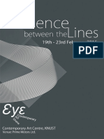 Silence Between the Lines - Exhibition Brochure