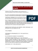 Constitución de los Estados Unidos Mexicanos