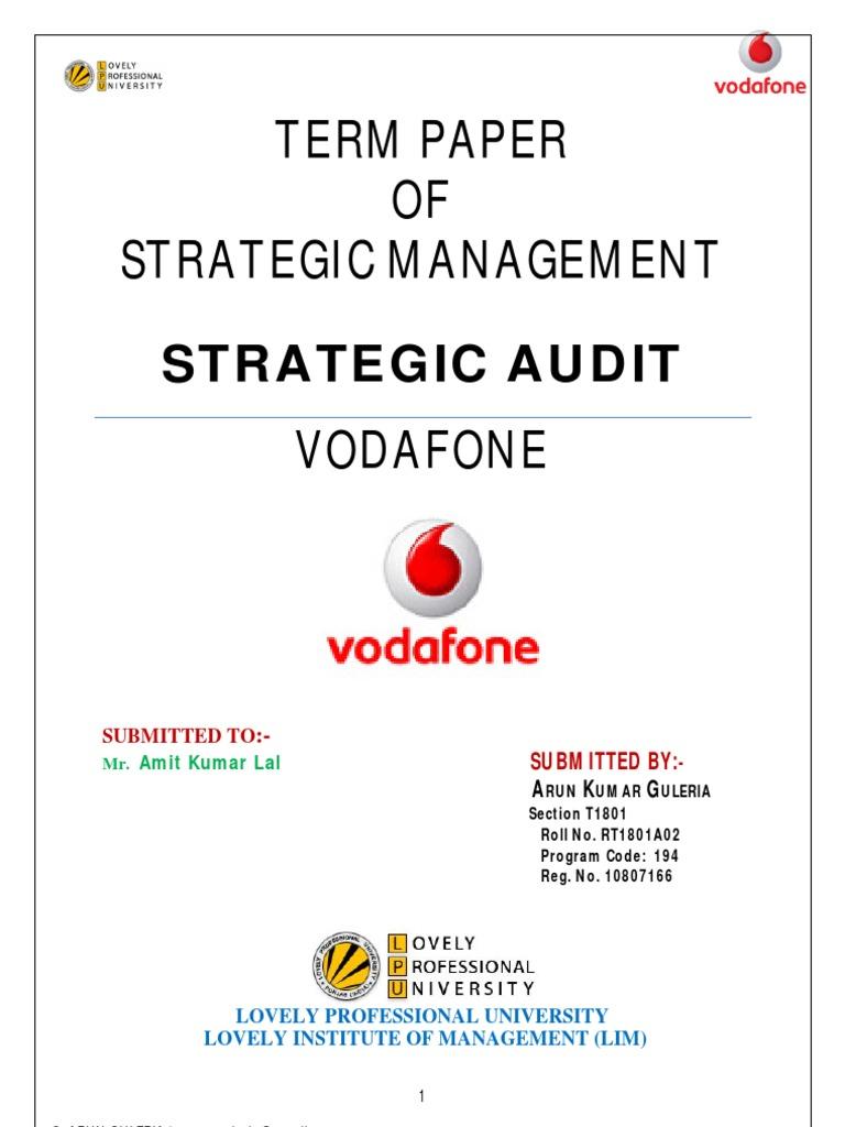 strategic audit of microsoft