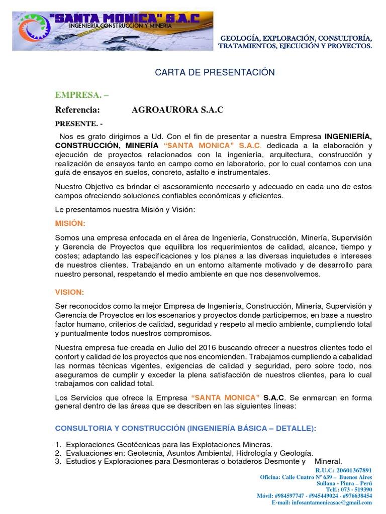 Único Ejemplos De Cartas De Presentación De Maestros Componente ...