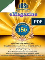 150 ICSI Mysore EMagazine July 2016