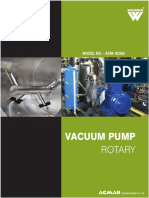 Vacumme Pump Rotary