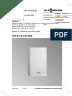Manual Viessmann Vitopend 100 WH1B