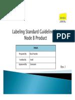 Label Standard Guideline Node B V1
