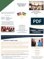 English Language Brochure - French