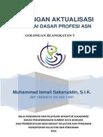 Rancangan Aktualisasi Muhammad Ismail