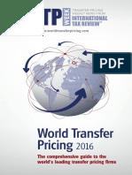 World Transfer Pricing 2016