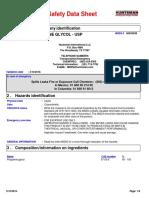 Propylene Glycol USP MSDS