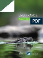 LPO - Rapport d'activité 2015