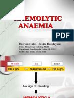 K13 Anemia Hemolitik