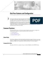 Dial Peer Feature & Configuration