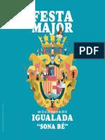 Programa Festa Major Igualada 2016