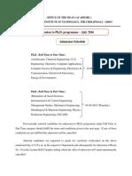 Ph.D.admission Notice Jul 2016