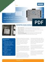 En Genetec HID Global VertX EVO V1000 Specifications Sheet