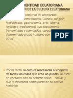 Cultura e Identidad Ecuatoriana 2