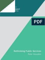 Rethinking Public Services