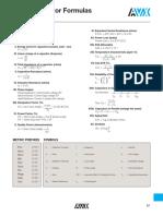 Basic Capacitor Formula