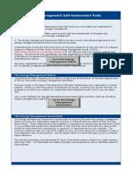 Energy Management Self-Assessment Tools