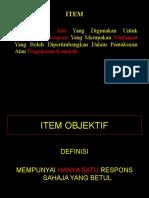 Pembinaan Item Objektif- (Nota)_2