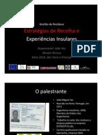 STP_I Encontro sobre Resíduos_Exp Insulares João Vaz