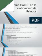 Sistema HACCP en La Elaboración de Helados