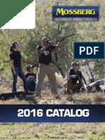Mossberg 2016 Catalog