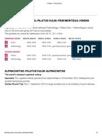 Timetable - Pilatus Bahnen