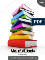 List of thousands Books