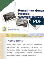 water BIRTH peer theaching.ppt