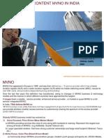 Content MVNO - Potential in India