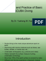 CH1 and 2 Principle and Practice of SCUBA Diving and Dive Equipments