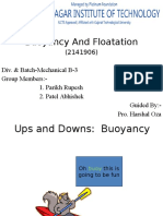 buoyancy floatation.pptx