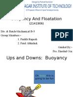 buoyancy floatation.pptx