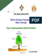 4 Cours Hydrologie Evapo