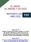 EL AMOR de Madre y de Dios
