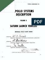 Apollo Systems Description Volume 2 - Saturn Launch Vehicles February 1964