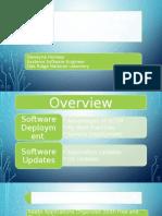 deploying software in an enterprise environment