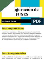 Configuracion de Fuses  (Pic)
