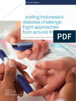 Tackling Indonesias Diabetes Challenge Eight Approaches From Around the World