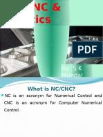 Ch-11 NC; CNC; DNC; FMS; Automation and Robotics