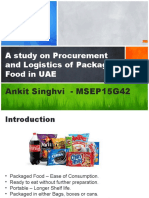 A study on Procurement and Logistics of Packaged food in UAE.pptx